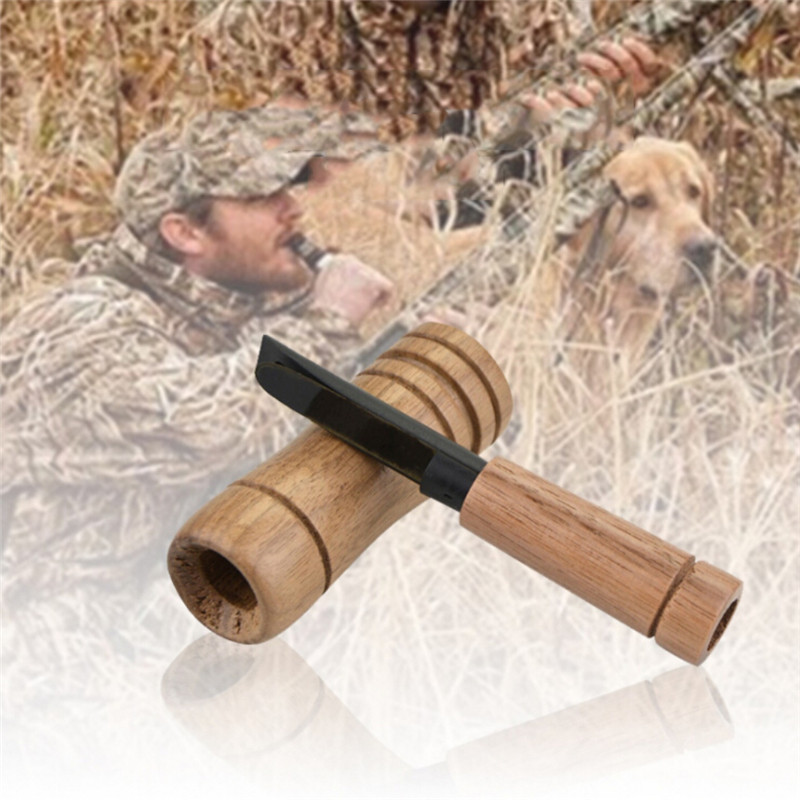 Duck Caller Amateur Simple Non Toxic Owing Waterfoul Outdoor Wood Whistle Supplies Imitation Sound Decoy New