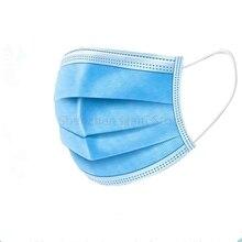 5000 قطعة/الوحدة المتاح أقنعة الوجه 3 Layer الغبار الفم مكافحة PM2.5 السلامة أقنعة الرجال والنساء المتاح أقنعة الوجه