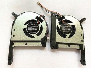 Nueva CPU GPU original para ordenador portátil, ventilador para Asus TUF Gaming FX505 FX505GE FX505GD FX505GM FX505DT FX705DT FX86FE FX86FM FX86SM