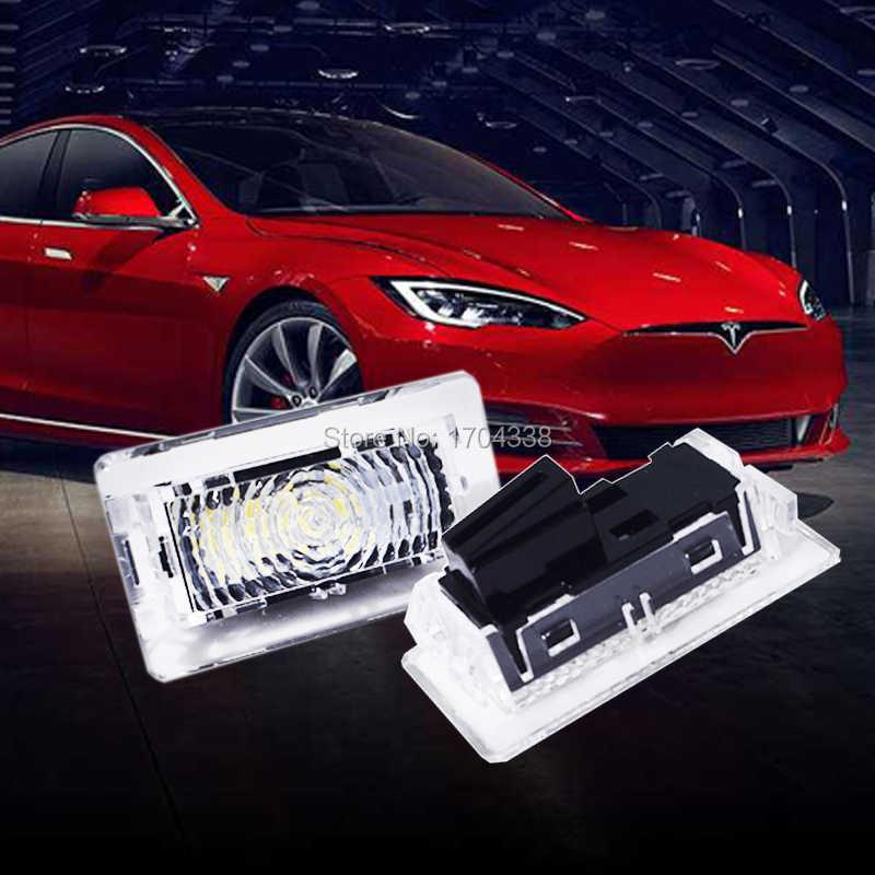 4pcs For Tesla Model 3 S X Led Clear Lens High Output