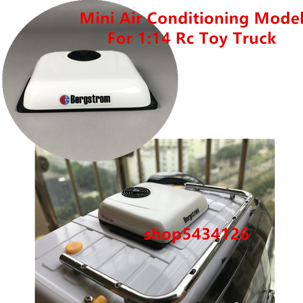 Mini Roof Air Conditioner Model For 1:14 Scale <font><b>Rc</b></font> Tractor Trailer <font><b>Truck</b></font> <font><b>Tamiya</b></font> Scania R620 MAN TGX 1851 3363 Volvo FH16 12 56360 image