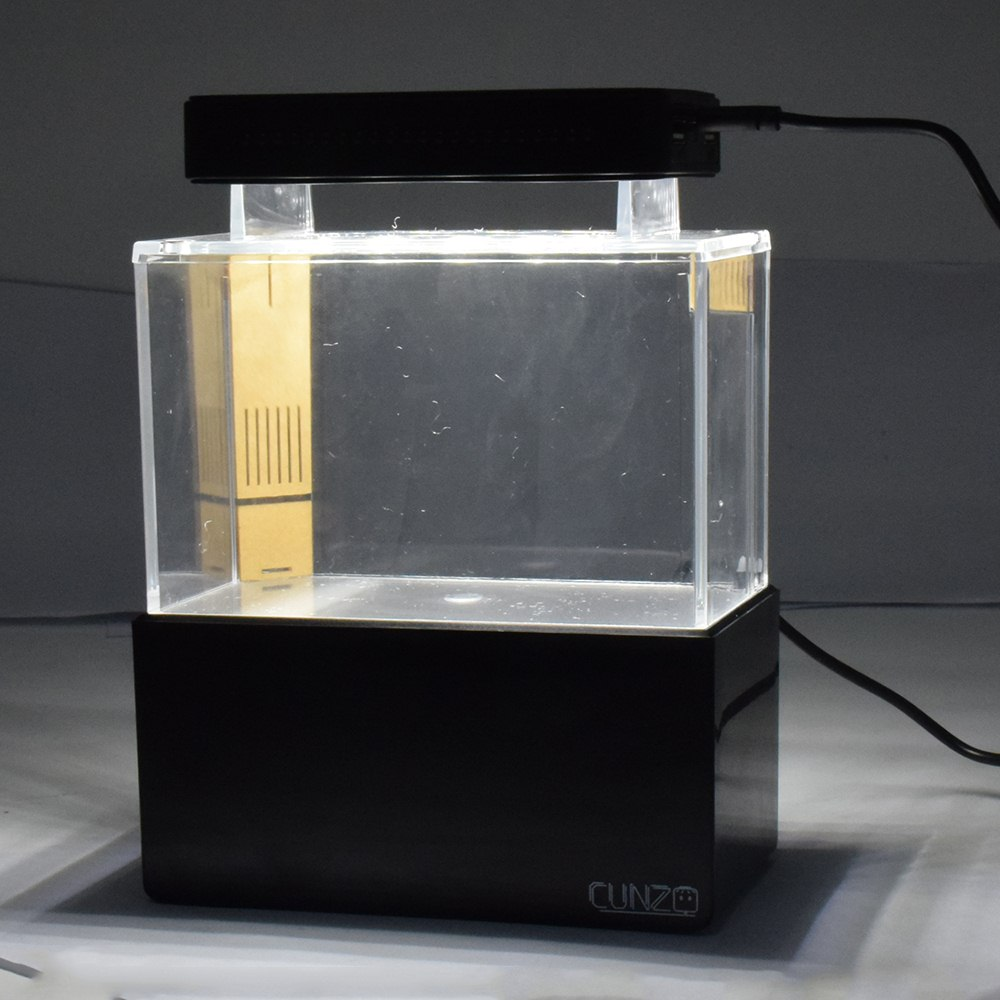 aquário aquário aquário aquaponic peixes tigela com