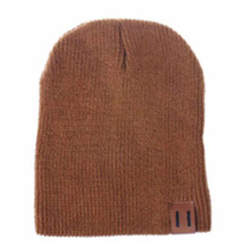 الشتاء القبعات أمي أبي المرأة رجل طفل الاطفال طفل صبي فتاة الشتاء الدافئة قبعات قبعة متماسكة قبعة الكبار الاطفال قبعات