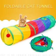 Dobrável Brinquedos Coelho Gatinho Gato de Estimação Túnel Túnel Brinquedos Brinquedos do Jogo Ao Ar Livre Indoor Pendurado Bola Treinamento Tubos Fontes Do Gato