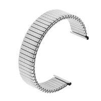 18mm Edelstahl Sport Frühling Uhr Band Strap Armband Solide Link für Männer Frauen Uhr
