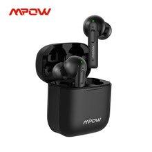 Mpow X3 Bluetooth 5.0 True Wireless écouteurs actif suppression du bruit écouteurs 27h lecture dans l'oreille casque avec micro pour téléphone