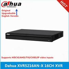 Сетевой видеорегистратор Dahua XVR5216AN-X 16-канальный видеорегистратор пятиядерный ГП брод 1080P цифровой видео Регистраторы поддерживаются sd-карты 5MP HDCVI Камера и 6MP IP Камера