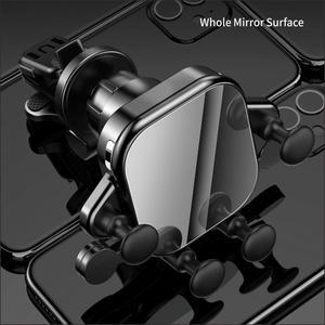 Image 4 - 15W צ י רכב אלחוטי מטען usb אינדוקציה הר אוטומטי הידוק QC3.0 מהיר Wirless טעינה עבור iphone 11 pro סמסונג SIKAI