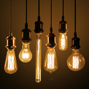 Edison-Bulb Filament Art-Decoration Retro-Lamp Incandescent Vintage 220v Home E27 40w