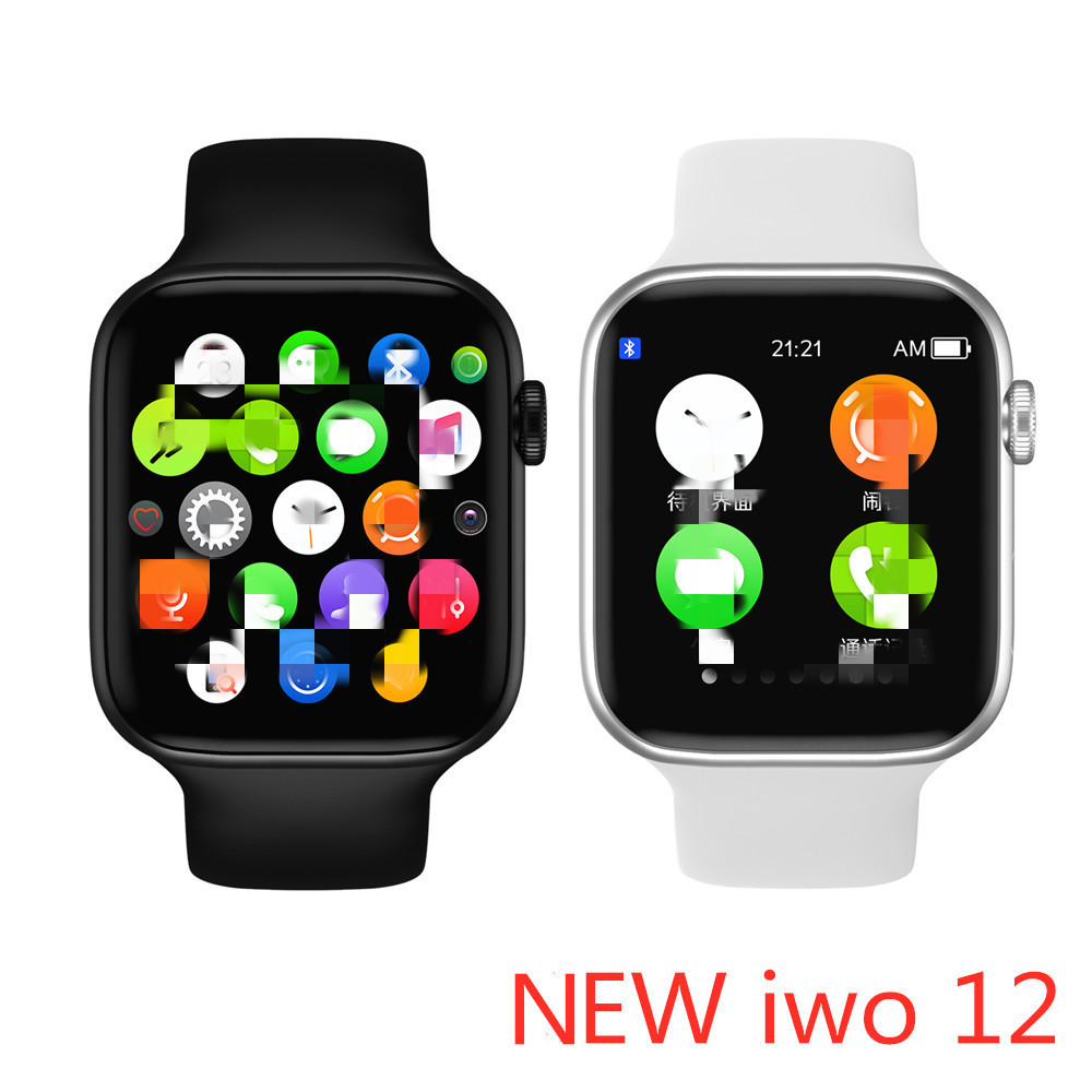 2020 iwo <font><b>12</b></font> <font><b>Smart</b></font> <font><b>Watch</b></font> Series 5 Bluetooth Call 44mm Smartwatch Change Strap Heart Rate Monitor for IOS Android Phone PK IWO 8 9 image