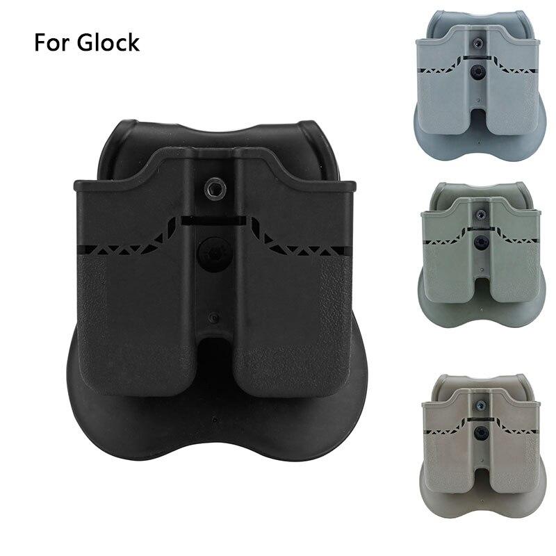 Купить тактические двойные чехлы для журналов glock 17 19 22 23 26
