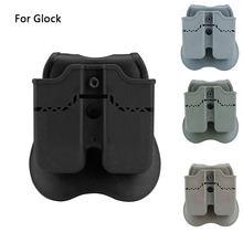 Тактические двойные Чехлы для журналов glock 17 19 22 23 26