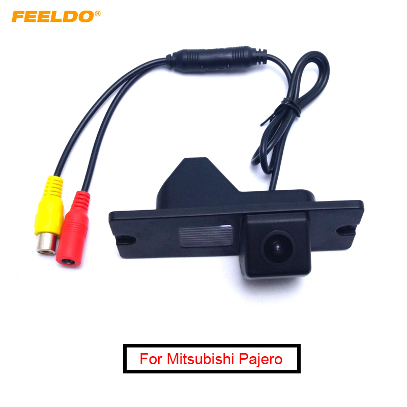 FEELDO 1Set Special For Mitsubishi Pajero Car Parking Rear View Camera HD Backup Reversing Camera #1533