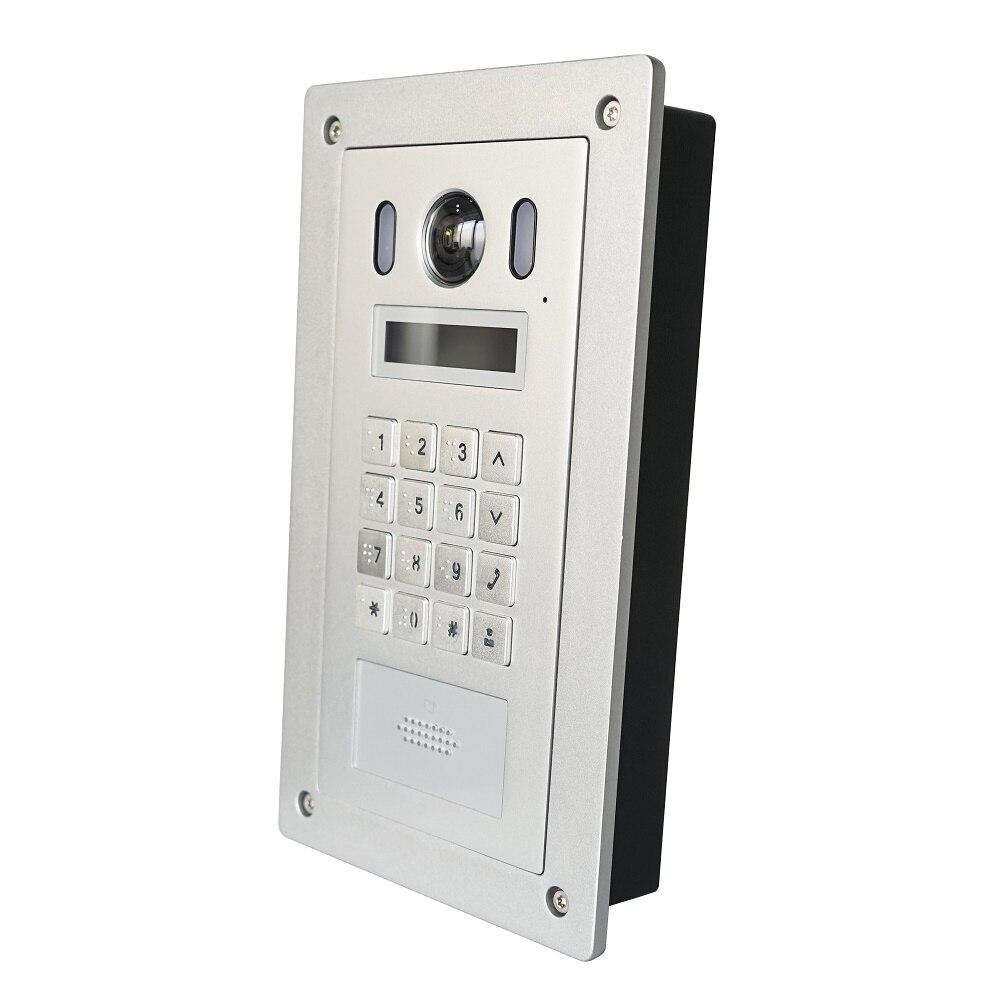 Image 5 - DH VTO6221E P PoE(802.3af) IP Metal Apartmen doorbell ,Door Phone,doorbell,IP Video Intercom, call to phone app,SIP firmwareVideo Intercom   -