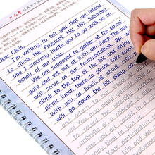 3 шт., тетрадь для обучения Английской Каллиграфии для взрослых и детей
