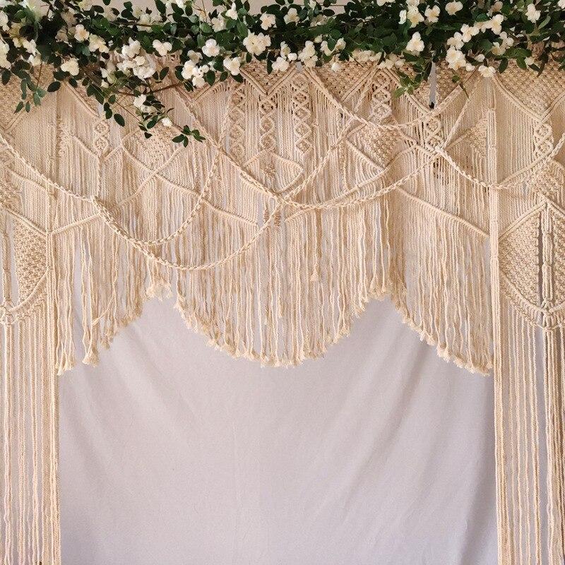 Hand woven wandteppich hochzeit szene decoration180 * 200cm Böhmischen vorhang hause dekoration wand hängende tapestry - 3