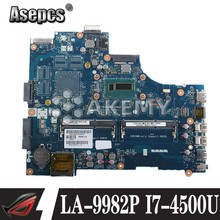 LA-9982P portátil placa base para Dell Inspiron 15R 5537 3537 placa base original de I7-4500U(China)