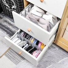 Drawer Divider Panties Cabinet-Organizers Organization Socks Underwear Storage-Boxes