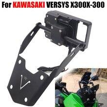 Shpping livre versys 300x quadro de navegação acessórios da motocicleta modificado suporte navegação apto para kawasaki versys x300 X-300