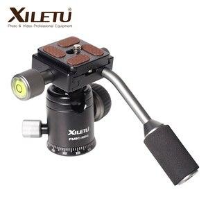 Image 4 - Алюминиевый мини штатив XILETU с шаровой головкой для цифровой зеркальной камеры, настольная подставка, легкий Настольный телефон с треугольным кронштейном