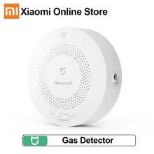 Detector de alarma de Gas Natural Xiaomi Mijia Honeywell, Sensor de Gas que funciona con multifunción Gateway 2, aplicación de Control de seguridad inteligente para el hogar