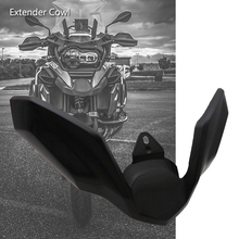 цена на For BMW R1250GS LC ADV R 1250 GS R1200GS Adventure LC 18-19 Front Wheel Fender Beak Nose Cone Extension Cover Extender Cowl