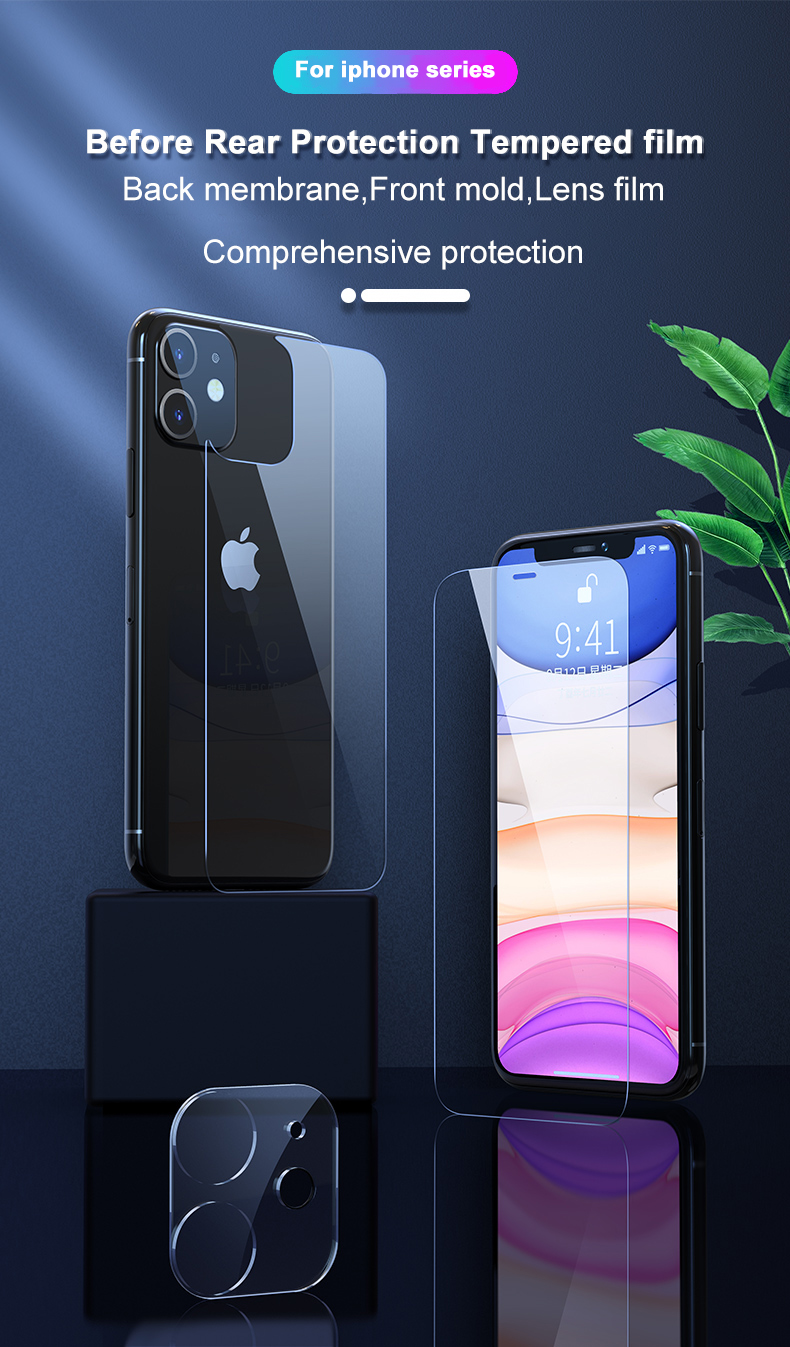 Tempered Glass Case