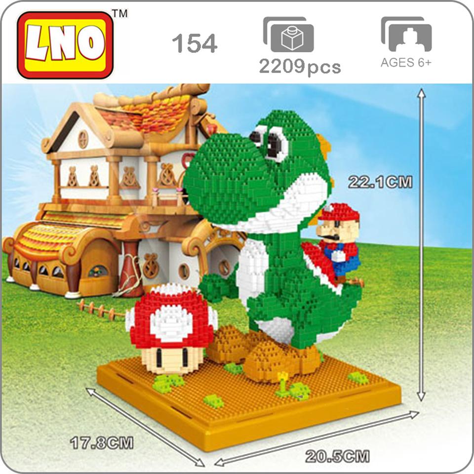 LNO-154-Game-Super-Mario-Yoshi-3D-Model-2209pcs-DIY-Diamond-Mini-Building-Small-Blocks-Bricks