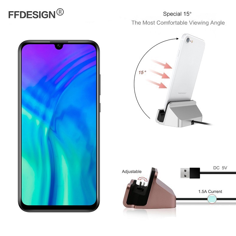Usb Cable Phone Charger Dock Station