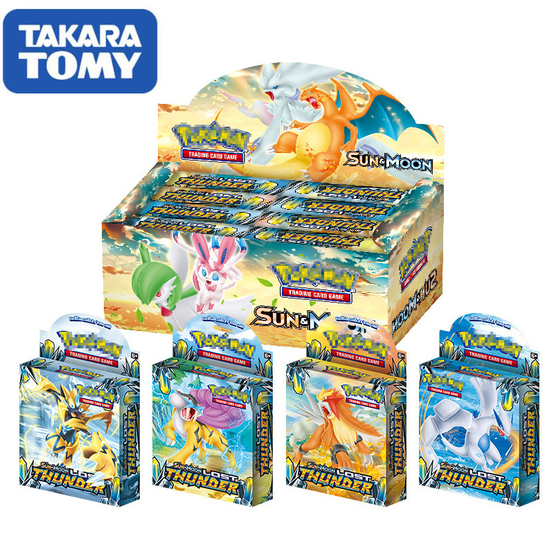 408 Your TAkARA Tommy's Pokemon Card Box, A Box Of Pokemon Children's Toy Greeting Cards Collectibles Card Game Kids Toys Gift