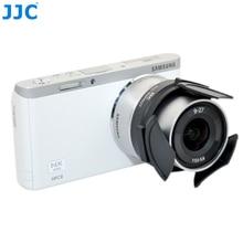 JJC Camera Tự Động Ống Kính cho Samsung EX1 TL1500 NX M 9 27mm F3.5 5.6 ED OIS Ống Kính