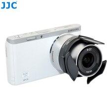 JJC caméra bouchon dobjectif automatique pour Samsung EX1 TL1500 NX M 9 27mm F3.5 5.6 ED OIS lentille