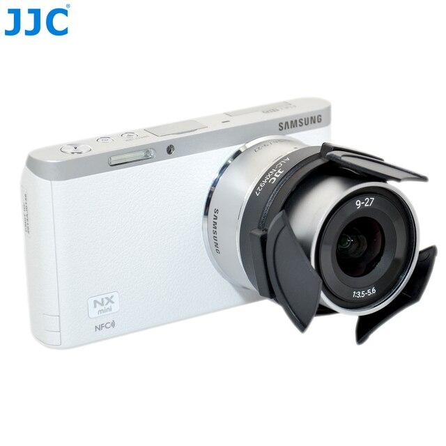 Jjc カメラ自動レンズキャップサムスン EX1 TL1500 NX M 9 27 ミリメートル F3.5 5.6 ED Ois