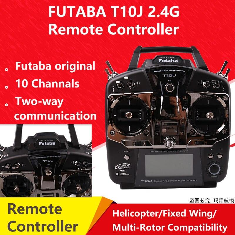 Оригинальный Futaba T10J 10J с R3008SB получить 10 канал 2,4 ГГц радио Системы для RC вертолет для R/C модель|Детали и аксессуары|   | АлиЭкспресс