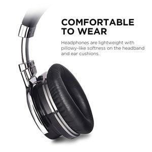 Image 5 - Mighty Rock E7C Aktive Noise Cancelling Kopfhörer Bluetooth Kopfhörer Wireless Headset 30 stunden Über ohr mit mikrofon