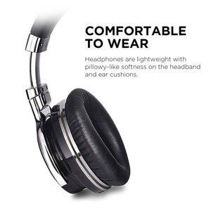 Image 5 - Наушники Mighty Rock E7C с активным шумоподавлением, Bluetooth наушники, беспроводная гарнитура, 30 часов над ухом с микрофоном