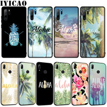 Sommer Strand Hawaii Aloha Meer Ozean Weiche Silikon Fall für Huawei P30 P20 Pro P10 P9 Lite Mini 2017 2016 P Smart Z Plus 2019(China)