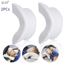QCZX Memory Foam Bedding Pillow Slow Rebound Pressure Multifunction Anti-pressure Hand Health Neck Couple