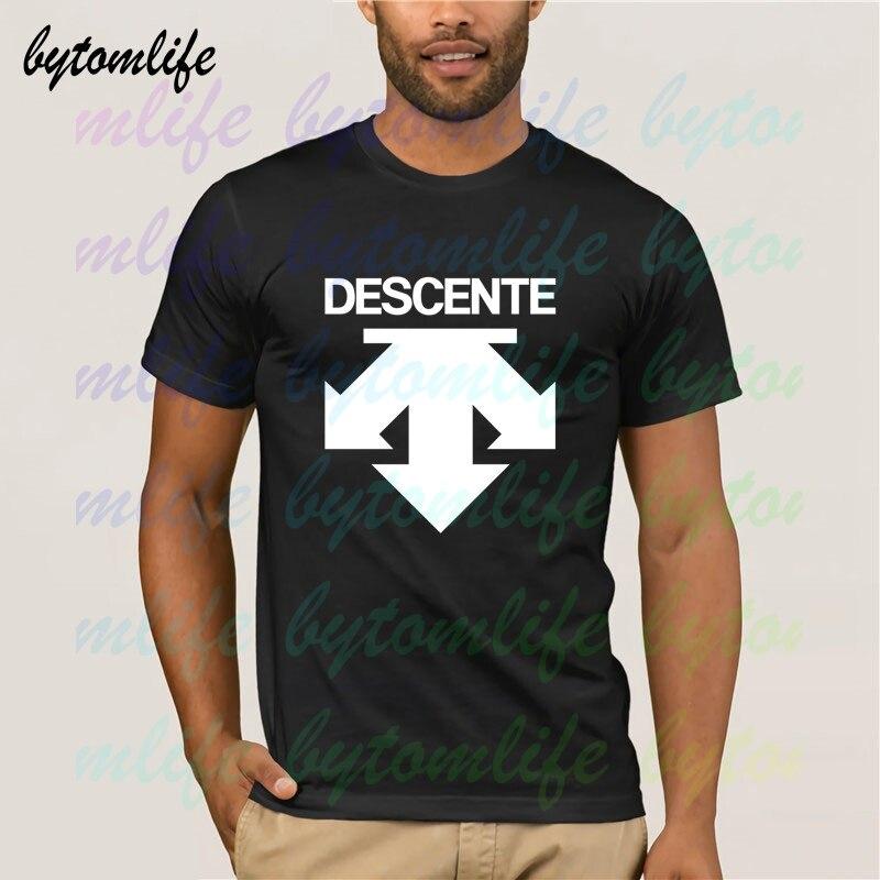 Descent Logo T Shirt Summer Print Black T Shirt Clothes Popular Shirt Cotton Tees Amazing Short Sleeve Unique Men Tops
