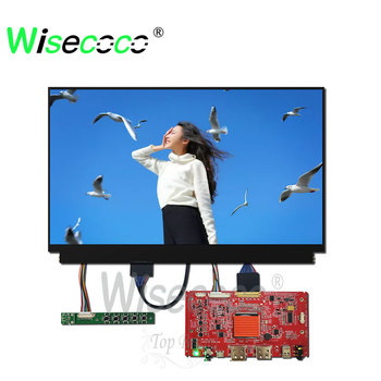 12.5 inch screen lcd TFT IPS display 3840*2160 UHD with 40pin HDMI driver board for laptop  be easy to carry about for travel