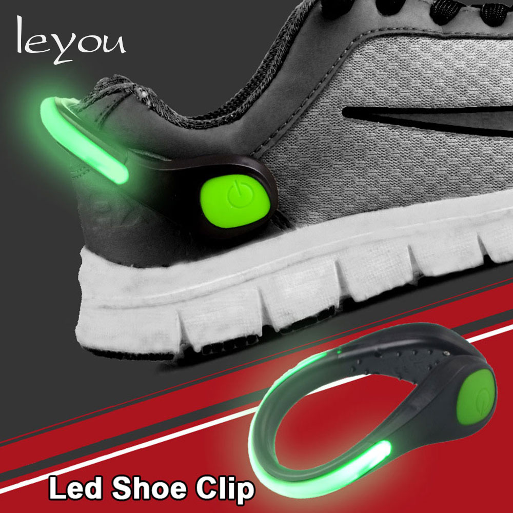 Led Sport Shoe Laces Glow Flash Light No Tie Shoelaces Luminous Strings 1 Pair