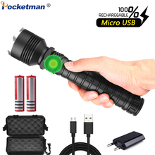 Powerful LED Flashlight XHP70.2 USB Flashlight Zoom LED Torch XHP70 XHP50 Flashlight Rechargeable with 18650 Battery portable usb rechargeable or battery led flashlight high quality powerful mini led torch xml design pen hanging with metal clip