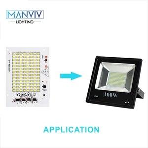 Image 4 - 5 SMD LED שבב 10W 20W 30W 50W 100W 230V מנורת שבב לא צריך נהג DIY LED הנורה מנורת LED הארה זרקור קר חם לבן