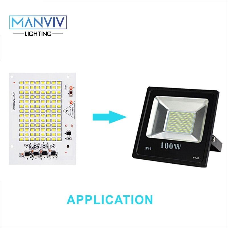 SMD LED Chip 10W 20W 30W 50W 100W 230V Lamp Chip No Need Driver DIY - Αξεσουάρ φωτισμού - Φωτογραφία 4