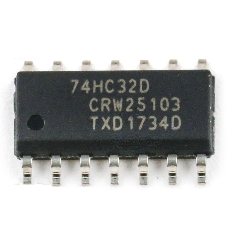 10 PCS 74HC32D SOP-14 74HC32 HC32 Quad 2-input OR gate IC A+
