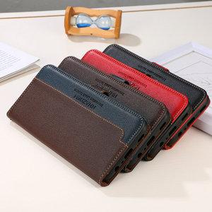 Image 5 - Realme C21 C15 C25 מגן מקרה עור כרטיס חריץ RFID חסימת מרקם Flip כיסוי עבור OPPO Realme C11 מקרה Realmi C 21 11 25