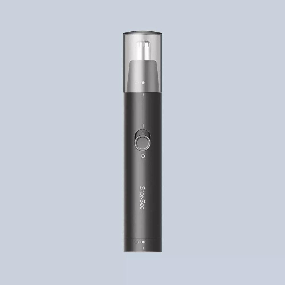 Showsee C1-BK aparador de pêlos de nariz