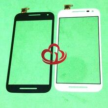 10 pièces écran tactile pour Motorola Moto G (3rd Gen) G3 XT1540 1541 1542 1543 1544 couverture de lentille en verre LCD avant