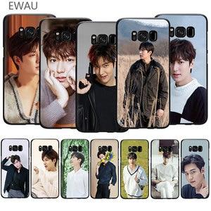 EWAU Lee Min Ho Soft TPU phone cover case for Galaxy S6 S7 Edge S8 S9 S10 Plus Note 10 8 9 M10 20 30 40