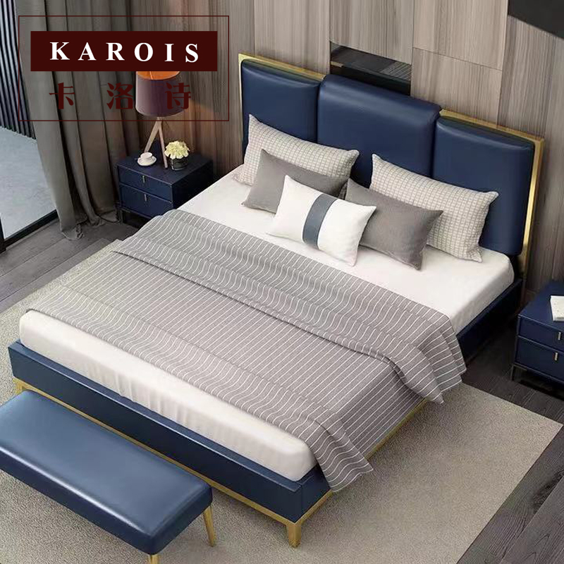 Us 5980 Modern Soft Luxury Bed Bedroom Furniture Wholesale House Luxury Bed Frame In Beds From Furniture On Aliexpress